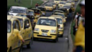 Cerca de 16.000 taxistas en Cali se unirán al paro de este miércoles