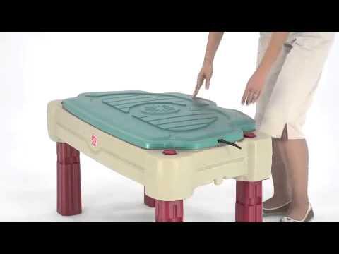 Столик для игр с песком и водой II Step2