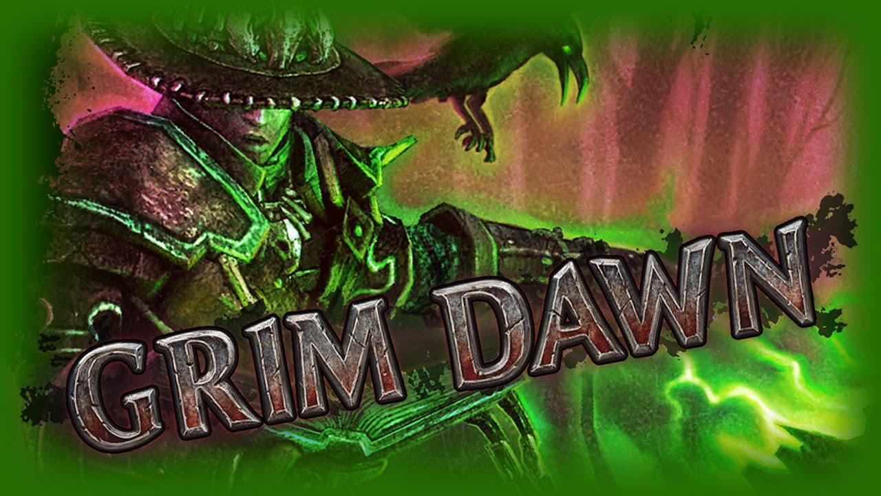 Grim Dawn - Plaguemancer v2 5 - The Poison Witch Hunter Build (vs  Elite  Karroz)
