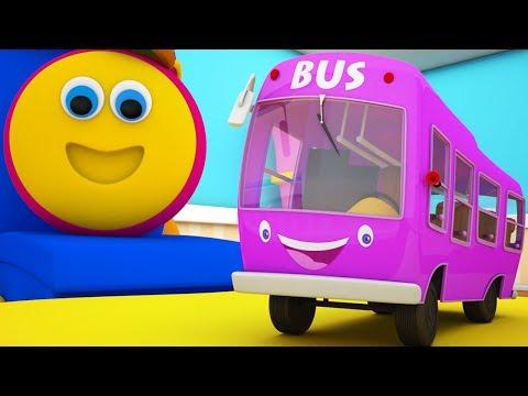 บ๊อบรถไฟ | ล้อบนรถบัส | เพลงสำหรับเด็ก | เพลงรถบัสในไทย | The Wheels On The Bus | Rhyme For Kids