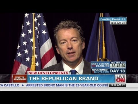 Sen. Rand Paul: 'I am proud to be a Republican'