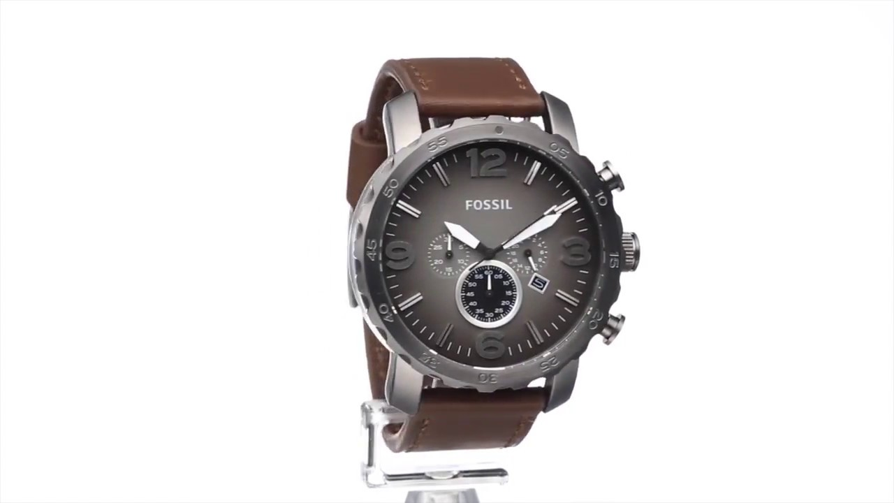 Fossil herrenuhr chronograph jr1424