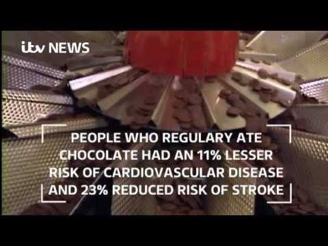 Does chocolate reduce the risk of a heart attack and stroke?