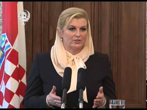 President Ghani & Croatian President's Joint Press Conference