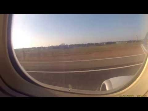 Full power take off 737 Royal Air Maroc FCO