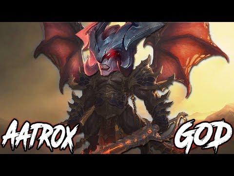 AATROX SUSTAIN GOD OVER 180.000 DAMAGE 🔥 IMMORTAL TANK AATROX! TOP Aatrox vs Riven Season 9 Gameplay