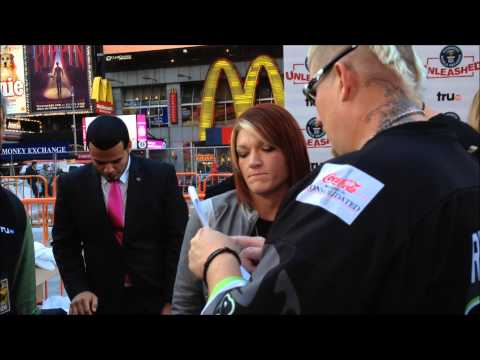 TRU TV - HARDCORE PAWN & LIZARD LICK TOWING REPO MAN STARS IN TIMES SQUARE, MANHATTAN IN NEW YORK.