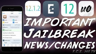 iOS 12.1.2 / 12 JAILBREAK ELECTRA, Unc0ver AND OSIRIS BIG NEWS AND CHANGES