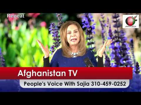 Afghanistan TV, People's Voice With Sajia. October 15 2016