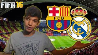 BARCA ON FIRE!!   Barca - Madrid   FIFA 16
