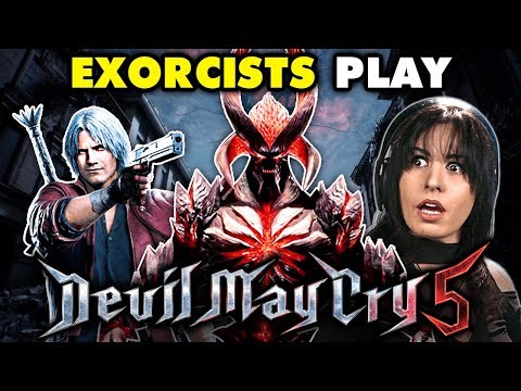 PROFESSIONAL EXORCISTS Play DEVIL MAY CRY 5 | React: Gaming thumbnail