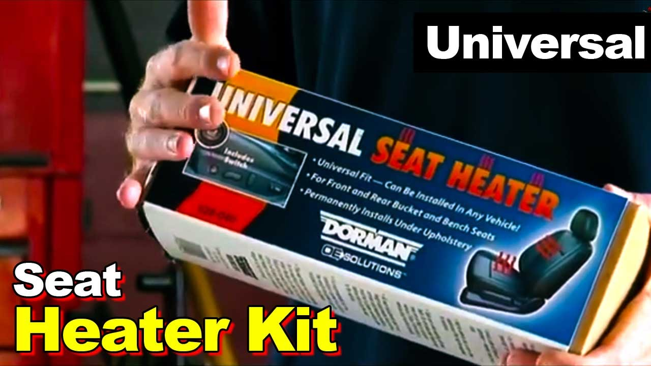 2007 Grand Caravan Wiring Diagram How To Install Universal Seat Heater Kit Youtube