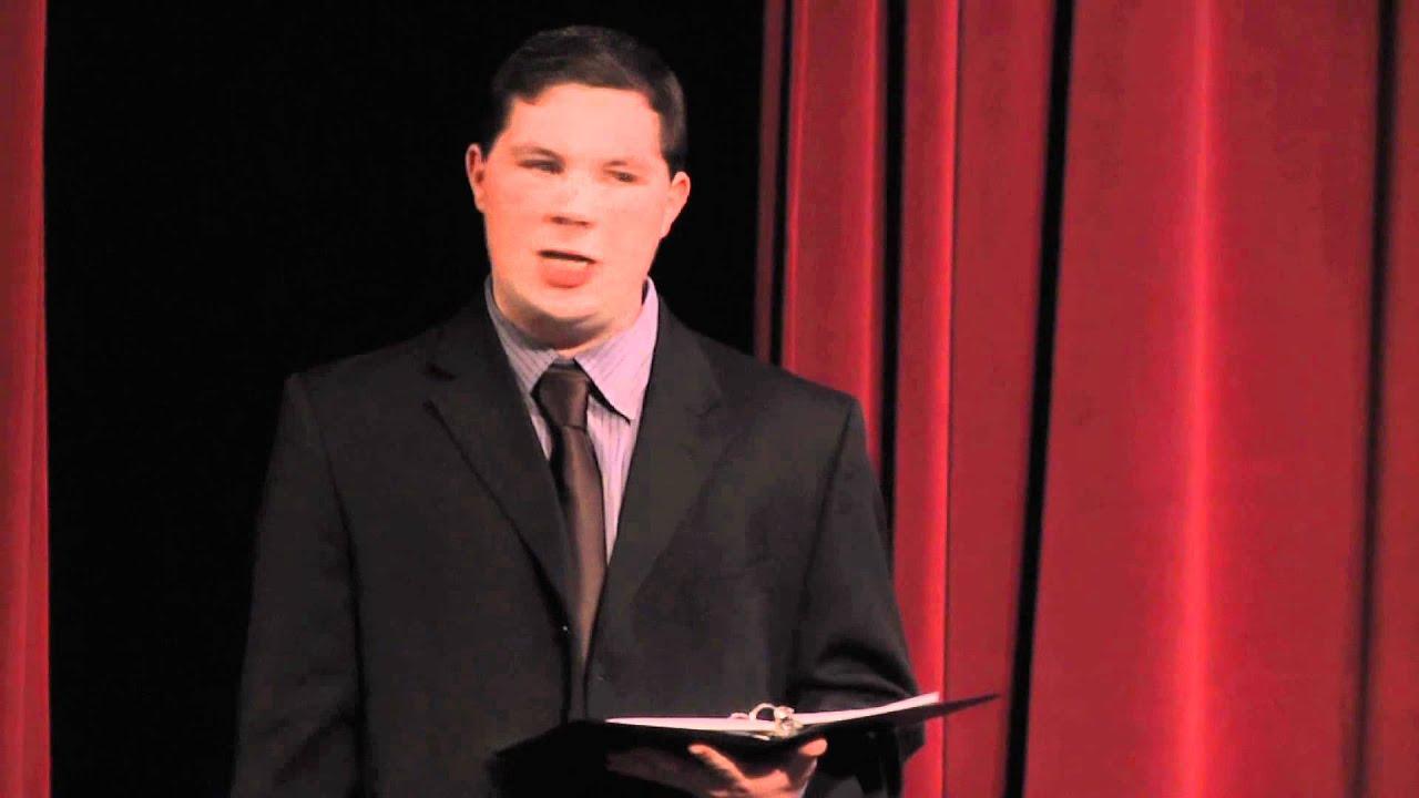 Joseph Baratta, Fall 2011 Oral Interpretation - YouTube