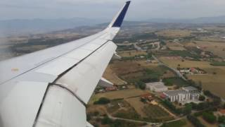 Short Landing video of Aegean Airlines in Thessaloniki(Seat 18A Aircraft: A320-232 // brand new SX-DNB Flight A3501 MUC-SKG 09. AUG 2016 HDG Runway 34., 2016-08-23T19:55:47.000Z)