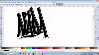 como crear un tag simple en inkscape