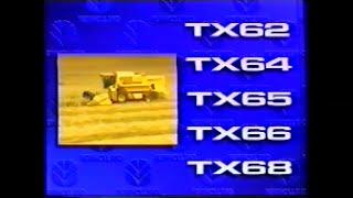 Presentazione New Holland serie TX 1994