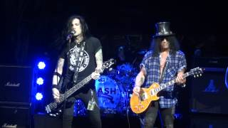 "Slash "" Out Ta Get Me "" w/ Todd Kerns - House of Blues Houston 2012"