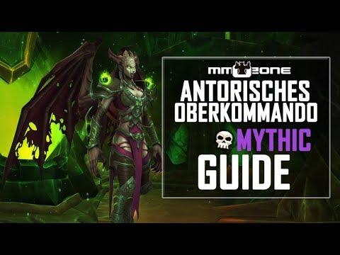 Antorisches Oberkommando / Antoran High Command MYTHIC Guide (Deutsch)