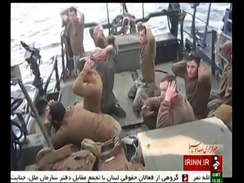 Iran releases captured U.S. Navy crew members