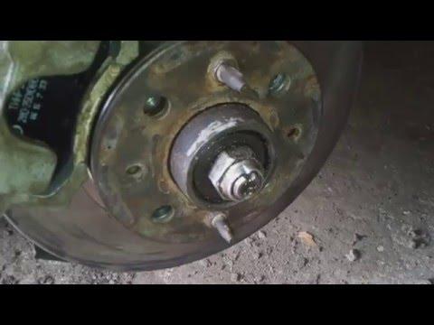 Как заменить передний тормоз ВАЗ 2101 на 2110