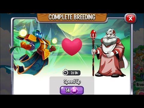 Dragon City High Priest Dragon Vs Deus Dragon Exclusive Breeding Dragon