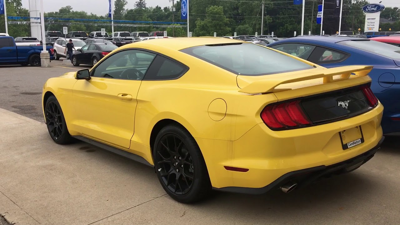 2018 Ford Mustang Ecoboost Performance Package