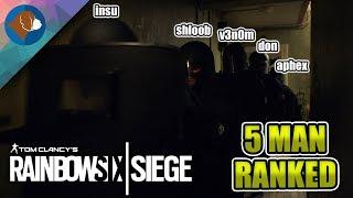 RAINBOW SIX SIEGE LIVE | CAVEIRA MAIN? | RANKED