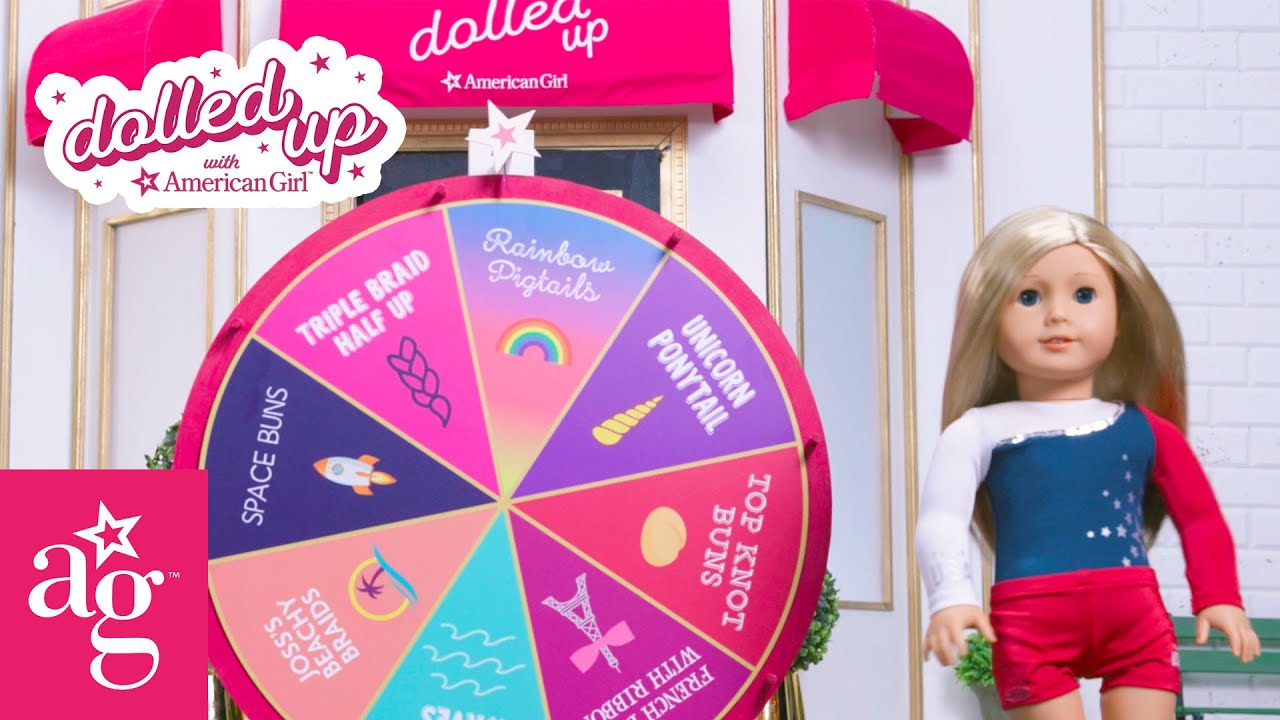Spin the Mystery Wheel with Team USA Gymnast | Dolled Up With American Girl | American Girl