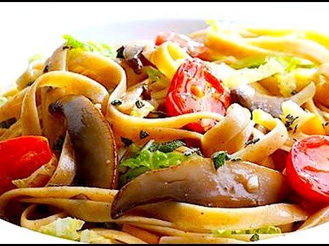 Healthy Deliciousness! (Alpine Mushroom Pasta)