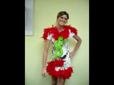 ugly grinch christmas sweater dress for sale 33 - Grinch Ugly Christmas Sweater