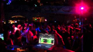 DJ Speedy Jr in the mix Latin Quarters Universal Studios Citywalk