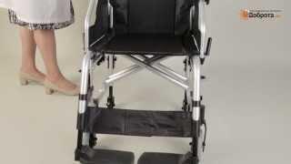 Видео-обзор кресла-коляски инвалидного Доброта Style