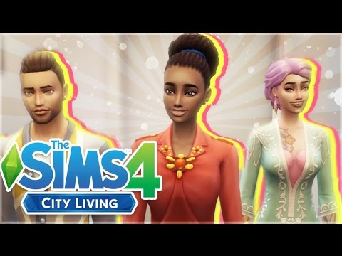 The Sims 4: City Living || Part 1|| Where It All Begins