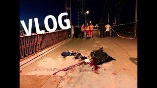 VLOG ● Сорвался с моста! | Как научится делать зацепы!