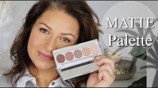 Matte Palette klassische Farben I Neues bei Makeupcoach I Ü40 Makeup Look