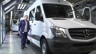Mercedes-Benz Sprinter (Production) (2014)