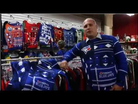 Toronto Blue Jays Ugly Christmas sweaters