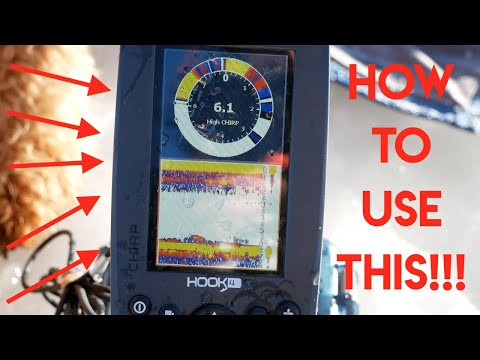 How To Use A Lowrance For ICE Fishing! (Flasher, Sonar)