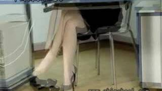 very pretty office lady with highheels in highheelcn com