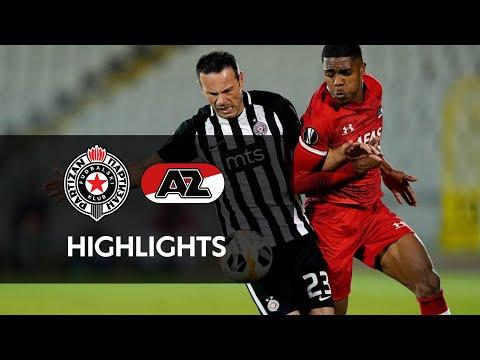 Highlights FK Partizan - AZ   Europa League