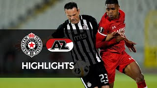 Highlights FK Partizan - AZ | Europa League