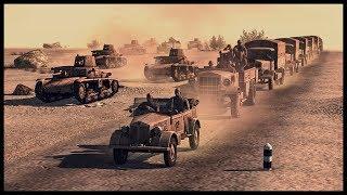 ITALIAN INVASION OF EGYPT! British-Italian Border Battle