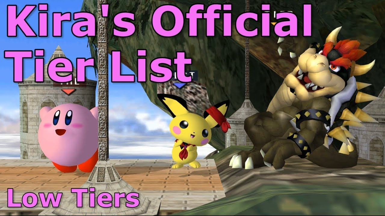 Kira's Official Melee Tier List - Part 4 - Super Smash Bros Melee