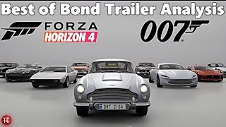 Forza Horizon 4: Best Of Bond Car Pack - FULL TRAILER ANALYSIS!