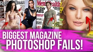 11 BIGGEST Magazine Cover Fails! (Dirty Laundry)