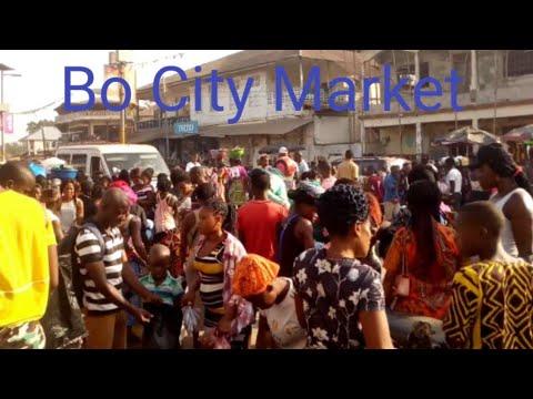 Christmas Eve in the biggest market in Bo City Sierra Leone. Vlogmas 🎄
