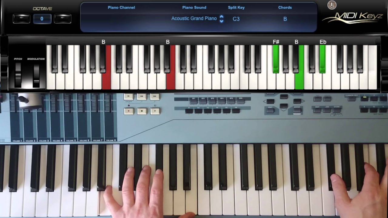 How to play piano chord b major youtube how to play piano chord b major hexwebz Gallery