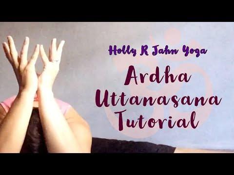 Ardha Uttanasana Tutortial/Standing Half Forward Fold