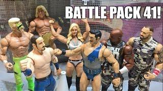 WWE BATTLE PACK 41 FULL SET Mattel Wrestling Figure Review! Dudley Boyz, Vaudevillians!