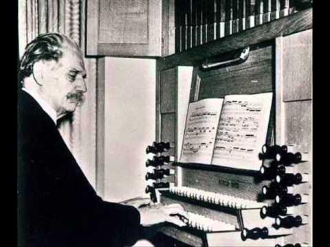 J.S. Bach  BWV 653 An Wasserflussen Babylon by Albert Schweitzer